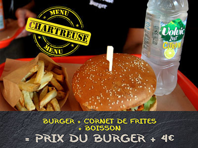 Menu Chartreuz Burger