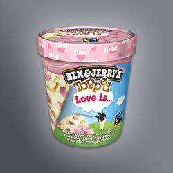 Glace Ben & Jerry's Love is