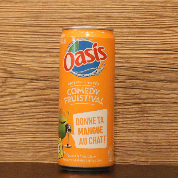 Canette Oasis tropical