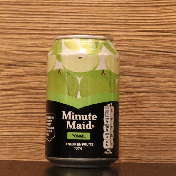 Canette Minute Maid Pomme